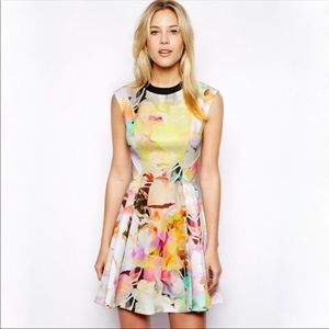 NWT Ted Baker Electric Dreams Floral Dress